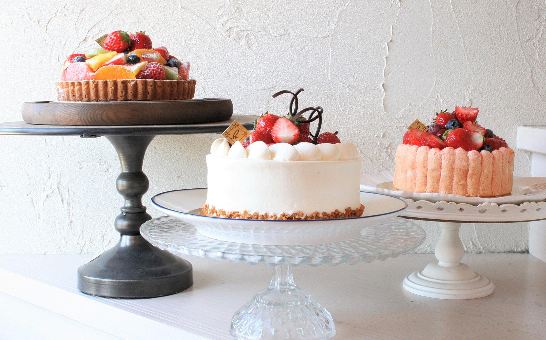 家族の誕生日、友達や恋人同士のパーティーで楽しめる特別なケーキをご提案。