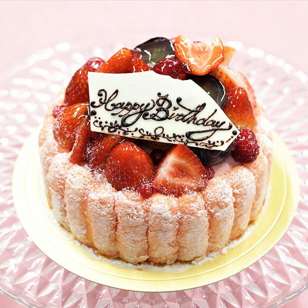 アトリエビブリ 松阪市のケーキ&カフェ シャルロット バースデーケーキ アニバーサリーケーキ