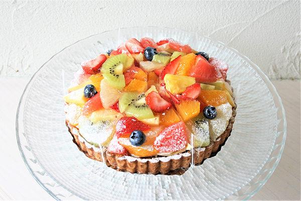 アトリエビブリ 松阪市のケーキ&カフェ フルーツタルト