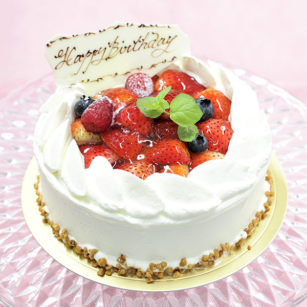 アトリエビブリ 松阪市のケーキ&カフェ イチゴショートDX バースデーケーキ アニバーサリーケーキ