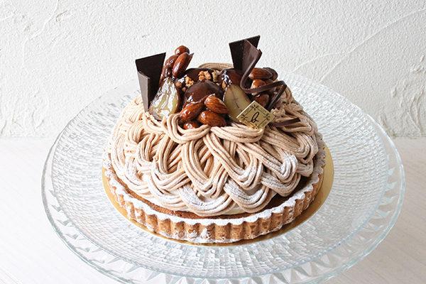 アトリエビブリ 松阪市のケーキ&カフェ モンブランタルト